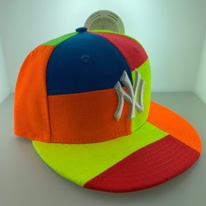 New Era New York Yankees Neon Multi Color Snapback
